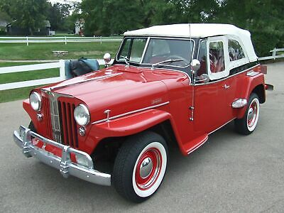 1949 Willys Overland Overland Jeepster Beautiful 1949 Willys Overland  Jeepster!