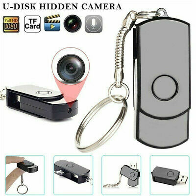 Mini Spy Camera 1080P DVR Wireless Wifi IP Home Security HD Night Vision Remote