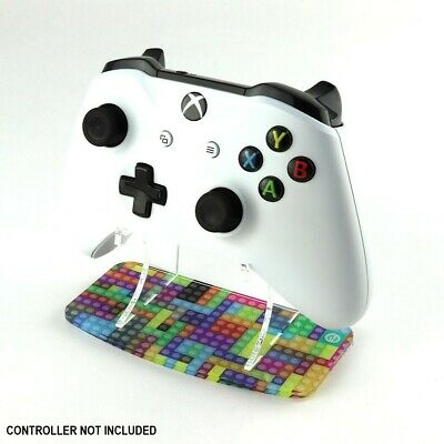 Coloured Building Bricks Xbox One Controller Stand, Gaming Displays, Games Room