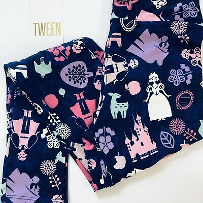 b24c030cb9372a NEW LuLaRoe Disney Tween Princess Snow Prince Witch Poison Apple Dwarfs  Deer😱