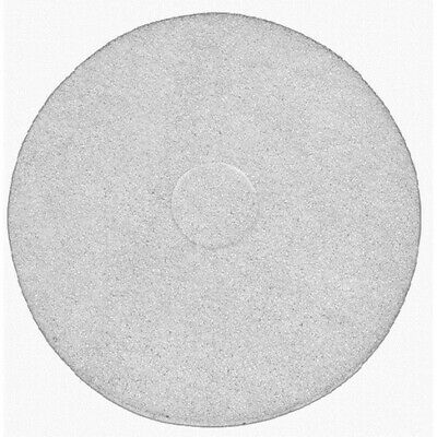 White polishing floor pad - Pack of 5 15""
