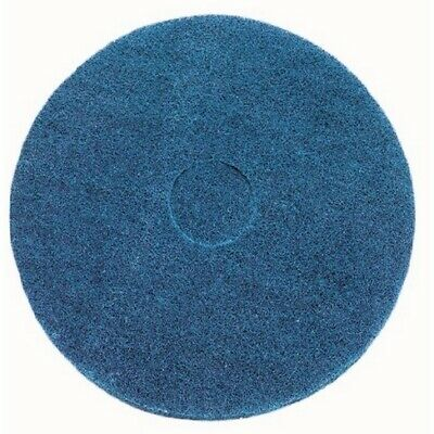"""Blue cleaning floor pad - Pack of 5 10"""""""