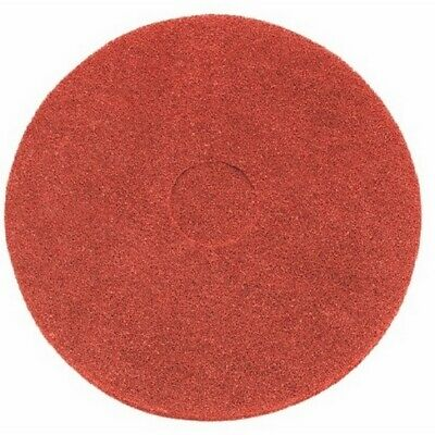 Red buffing floor pad - Pack of 5 13""