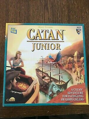 Catan Junior Board Game Family Kids Settlers Of Catan