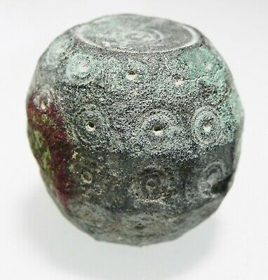 Zurqieh -As12693- Byzantine / Early Islamic Bronze Weight. 600 - 800 A.d.