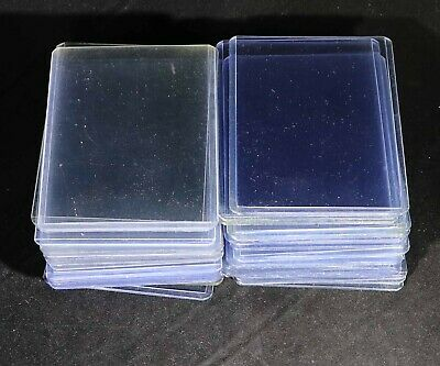 Lot of (50) Ultra Pro Regular 3x4 Toploaders used