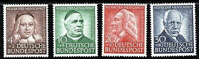 Germany - 1953 Humanitarian Relief Fund - Full Set - Mnh**