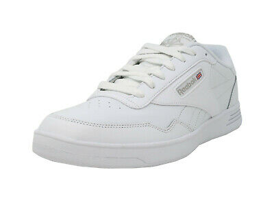 REEBOK Club Memt Wide 4E White MemoryTech Classic Lace Up Sneakers Men Shoes