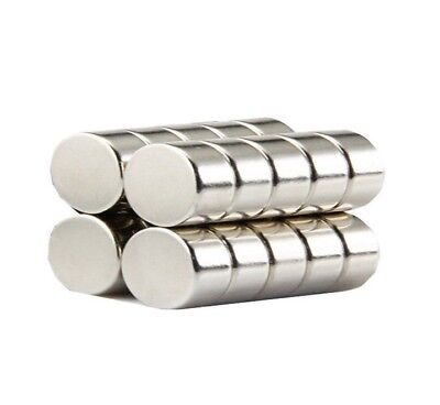 Super Strong 20mm by 10mm Rare Earth Neodymium Disc Magnets - Excellent Value!