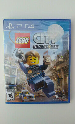 LEGO CITY UNDERCOVER - PS4 GAME - Favourite With Kids of ALL Ages!- BRAND NEW