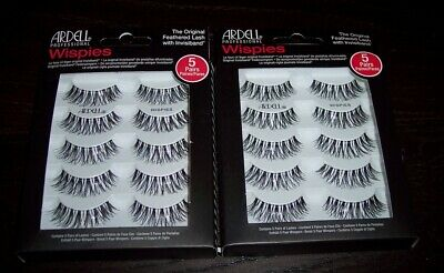 9e19bfd3f69 2-5 Packs Ardell Wispies The Original Feathered Lash With Invisiband G0