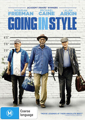 Going in Style  - DVD - NEW Region 4