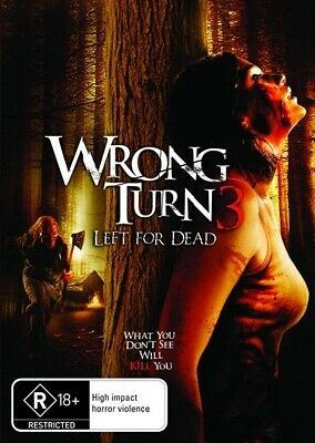 Wrong Turn 3 - Left For Dead, DVD