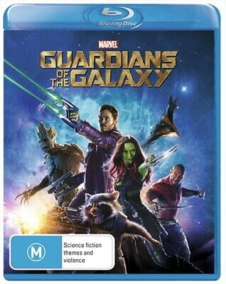 Guardians Of The Galaxy, Blu-ray