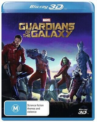 Guardians Of The Galaxy 3D, Blu-ray 3D
