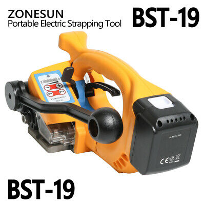 ZoneSun BST-19  |  PP Polypropylene Strapping Tool with Battery + Charger  *NEW*