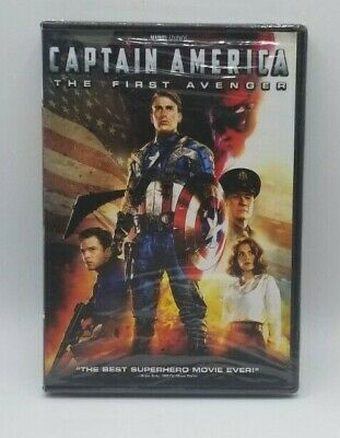 Captain America The First Avenger DVD NIB