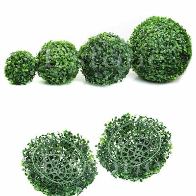 Artificial Plant Ball Topiary Tree Boxwood Wedding Party Home Outdoor Decoration