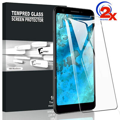 2x 9H Tempered Glass Screen Protector for Google Pixel 2 / Pixel 3 / Pixel 3a XL