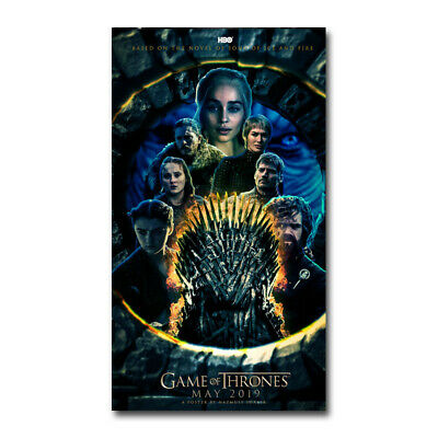 Game Of Thrones Season 7 TV Show Canvas Posters Art Prints 8x12 24x36 Daenerys