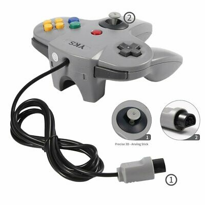 Game-Controller Joystick Für Nintendo 64 N64 System GamePad grau Apr NEW