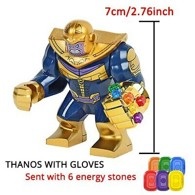 Big Size Lego Hero Avengers End Game Iron Man Thanos Gloves Limited | Rare | New