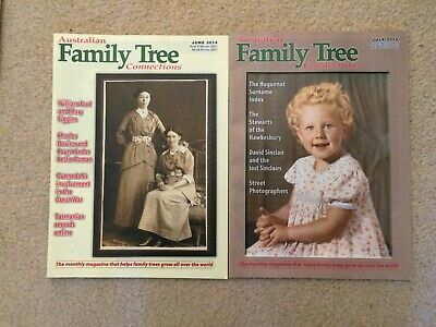 Australian Family Tree Connections magazine - June, July 2014