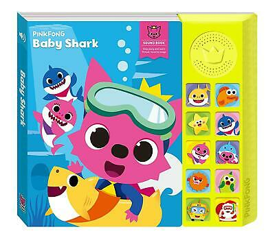 Pinkfong Pinkfong Baby Shark Song Sound Book Singing Children Kids Toy Official