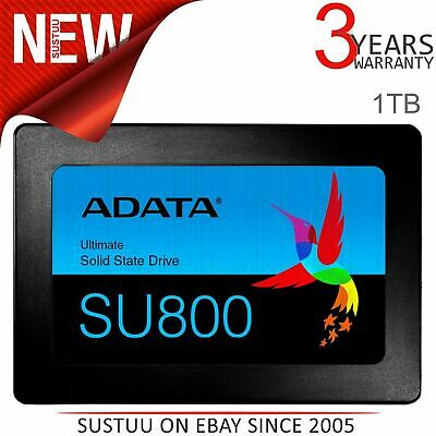 "ADATA Ultimate SU800 1TB 2.5"" 3D NAND Solid State Drive 