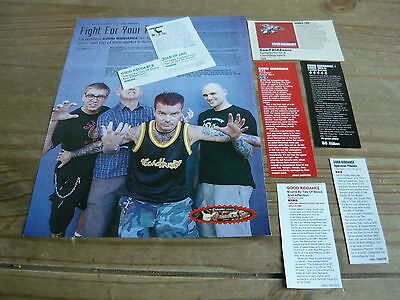 Good Riddance - Magazine Cuttings Collection (Ref T6)