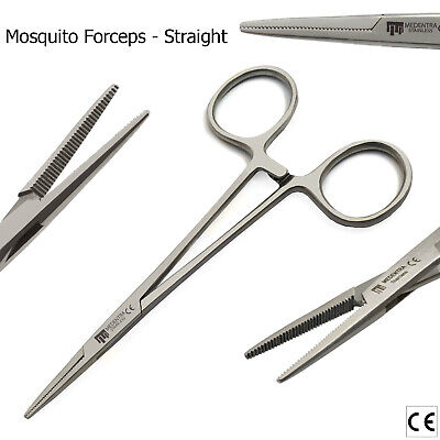 Mini Mosquito Forceps Slim Tip Hemostat for Ligatures Band Placing Surgical