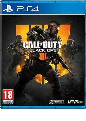 Call Of Duty Black Ops 4 Iiii Ps4 Brand New Fast Delivery!
