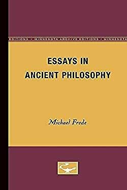 Essays in Ancient Philosophy-ExLibrary