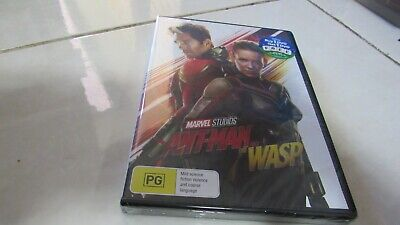 Ant-Man And The Wasp Marvel(DVD, 2018) NEW SEALED,FREE REGISTERED POST INCLUDED