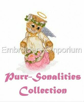 Purr-Sonalities Collection - Machine Embroidery Designs On Cd Or Usb