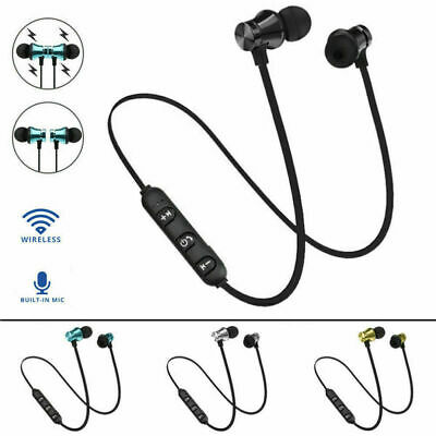 In-Ear Earbuds Headphone Bluetooth 4.2 Stereo Earphone Mag Headset Wireless J0A9