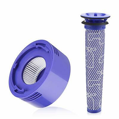Dyson V8 Absolute Pro replacement filter kit - Washable pre & HEPA post filter