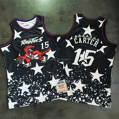Vince Carter #15 Toronto Raptors 98-99 4th July Limited Edition Throwback Jersey