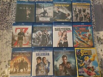 Recent release Blu rays - Pick your title(s)  See Description Free avengers disc
