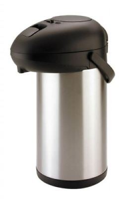 5L large Insulated Airpot Vacuum Flask Pump Action hot drinks hospitality SUNNEX