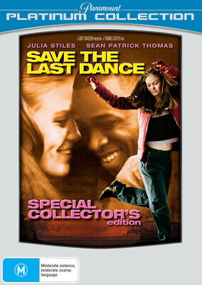 Save the Last Dance (Platinum Collection) (Special Collect  - DVD - NEW Region 4