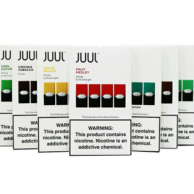 Juul Vape Pods  Premium E Juice 6 Flavours 0.7 ml with 5.0% Strength