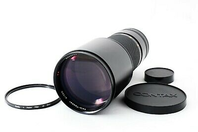 CONTAX Carl Zeiss Tele-Tessar 300mm F4 MMG Lens For C/Y [Excellent+++] Japan