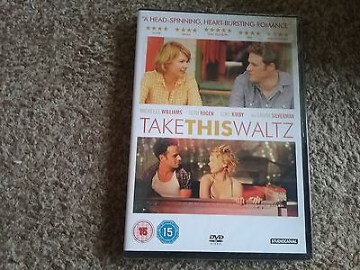 Take This Waltz (DVD, 2013) new and sealed freepost