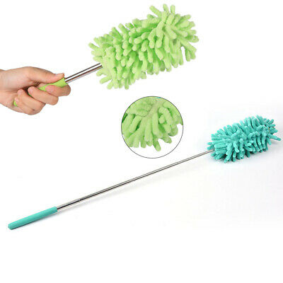 Extendable Telescopic Microfiber Cleaning Duster Feather Style Home Car Brush