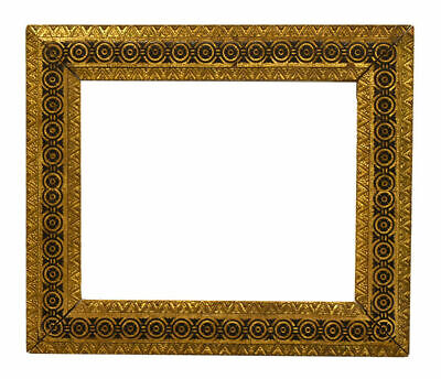 Antique American 1880 Aesthetic Movement Gold Picture Frame