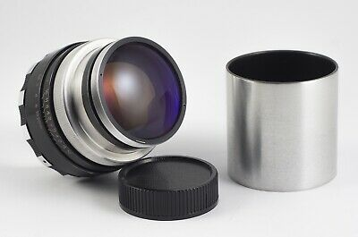 JUPITER 9 AUTOMAT F/2 85mm LENS CUSTOM MADE ADAPTED TO M39 EXC