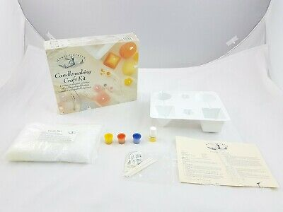 House  Of Craft Candlemaking Craft Kit Candle Making Wax Wick Moulds Dye HC140