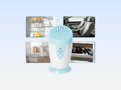 Portable Ozone Generator Deodorizer and Air Purifier - Blue color