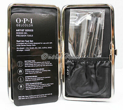 OPI GelColor Artist Series Design Gel Precision Tool / Brush Set - GP905